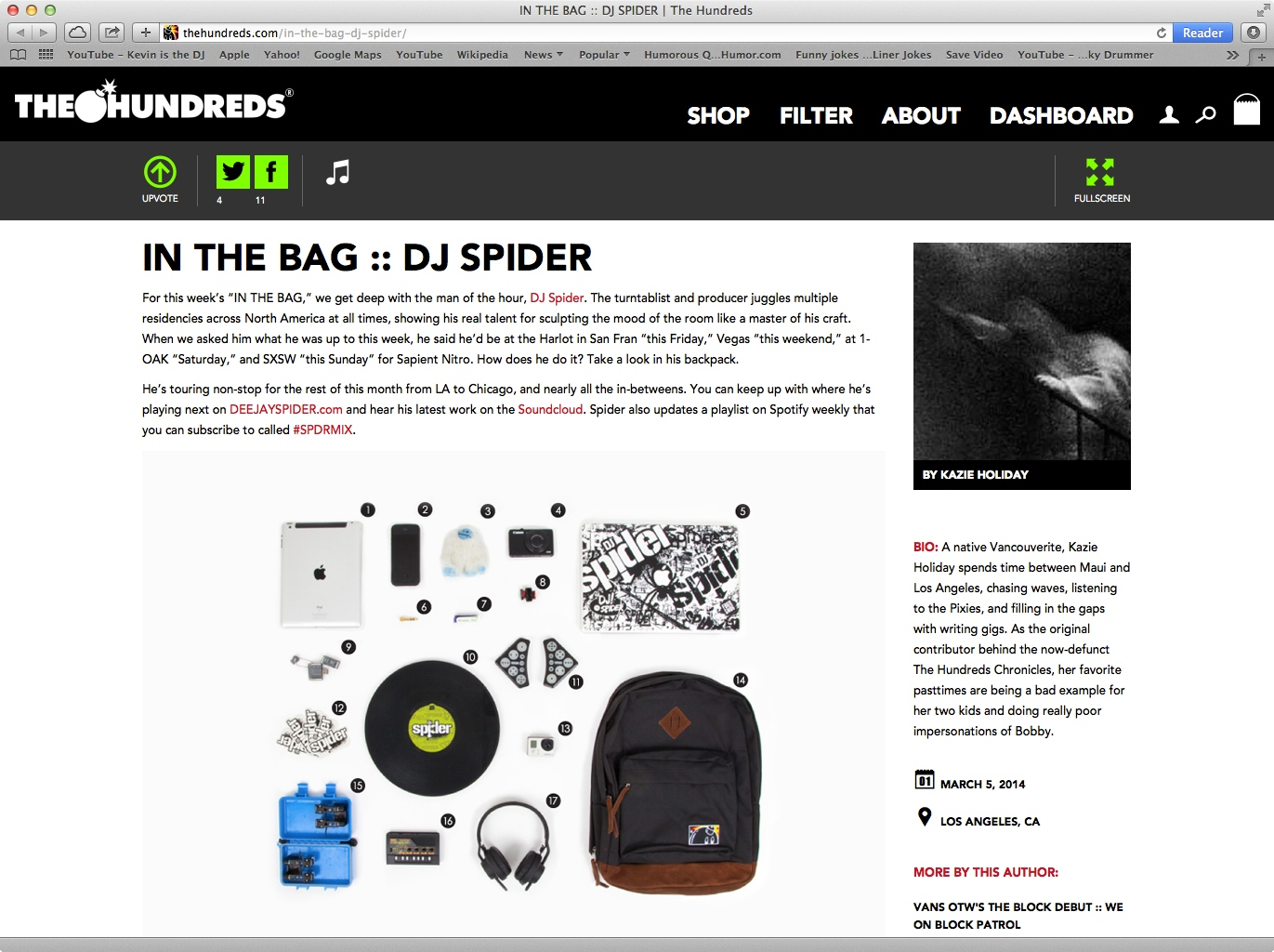 DJ Spider In The Bag